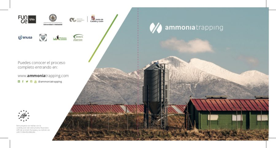 LIFE-AMMONIA TRAPPING project Pilot Plant for Ammonia Treatment