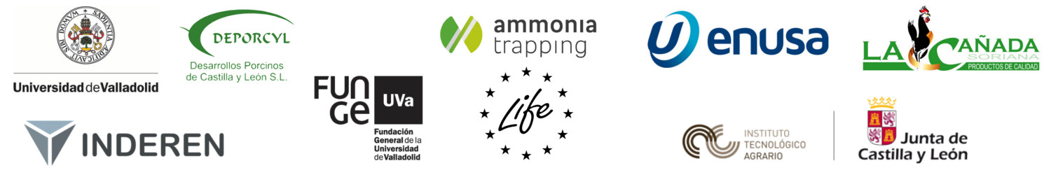 Ammonia trapping LIFE Inderen partners