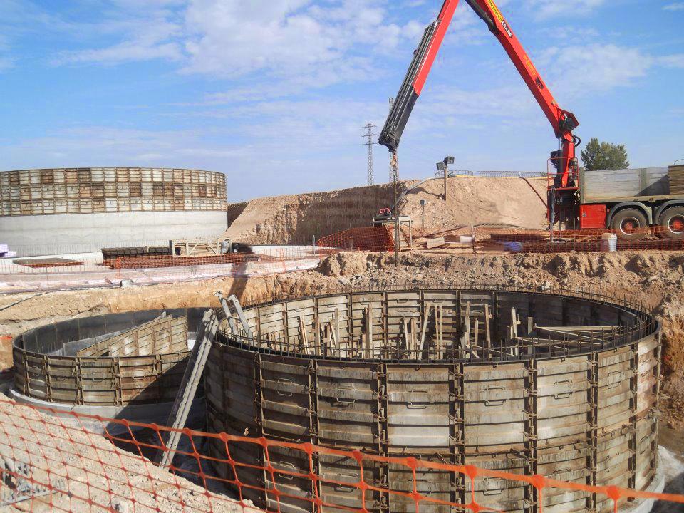 Planta Biogás 500kw en Torregrossa Lleida 03