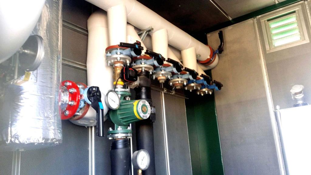 Instalación Colector Calefacción en CHP