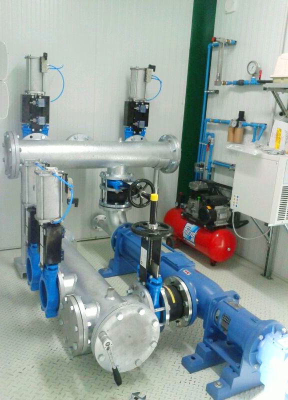 Container Solutions - Biogas (Pumping Station, Compression System)