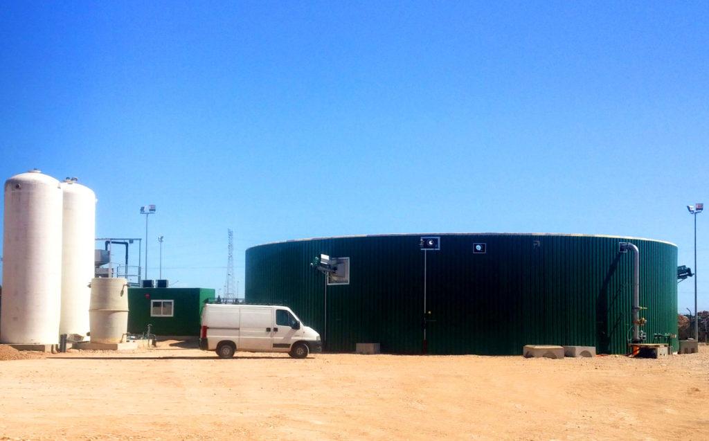 Biogas plant for Kernel Export in Los Alcázares (Murcia)