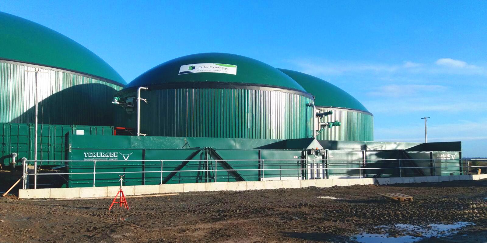 1MW Biogas Plant in Inchdairnie United Kingdom 008