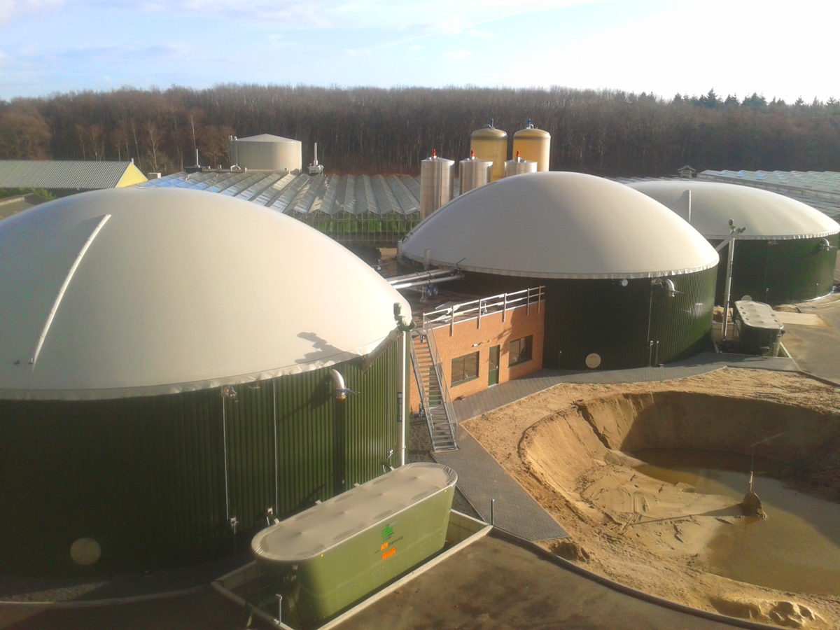 2 MW Biogas plant in Moerstraten Netherlands - INDEREN