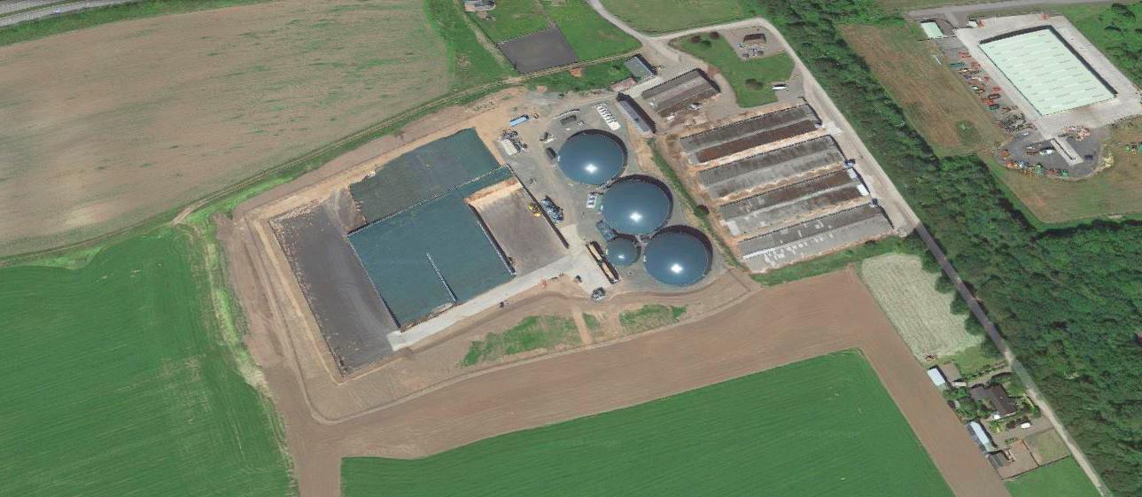 001 Planta Biogás 1MW Inchdairnie Reino Unido