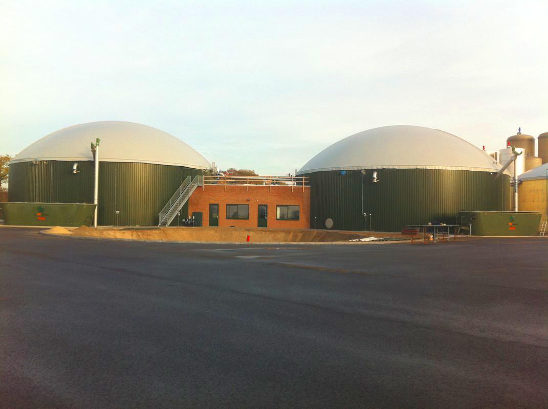01 Planta de Biogás de 2 MW en Moerstraten Países Bajos - Foto central planta