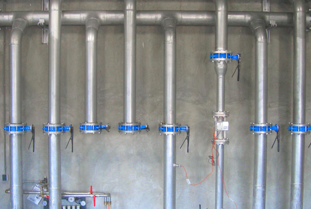 05 Planta de Biogás de 2 MW en Moerstraten Países Bajos - Colector calefacción CHP´s
