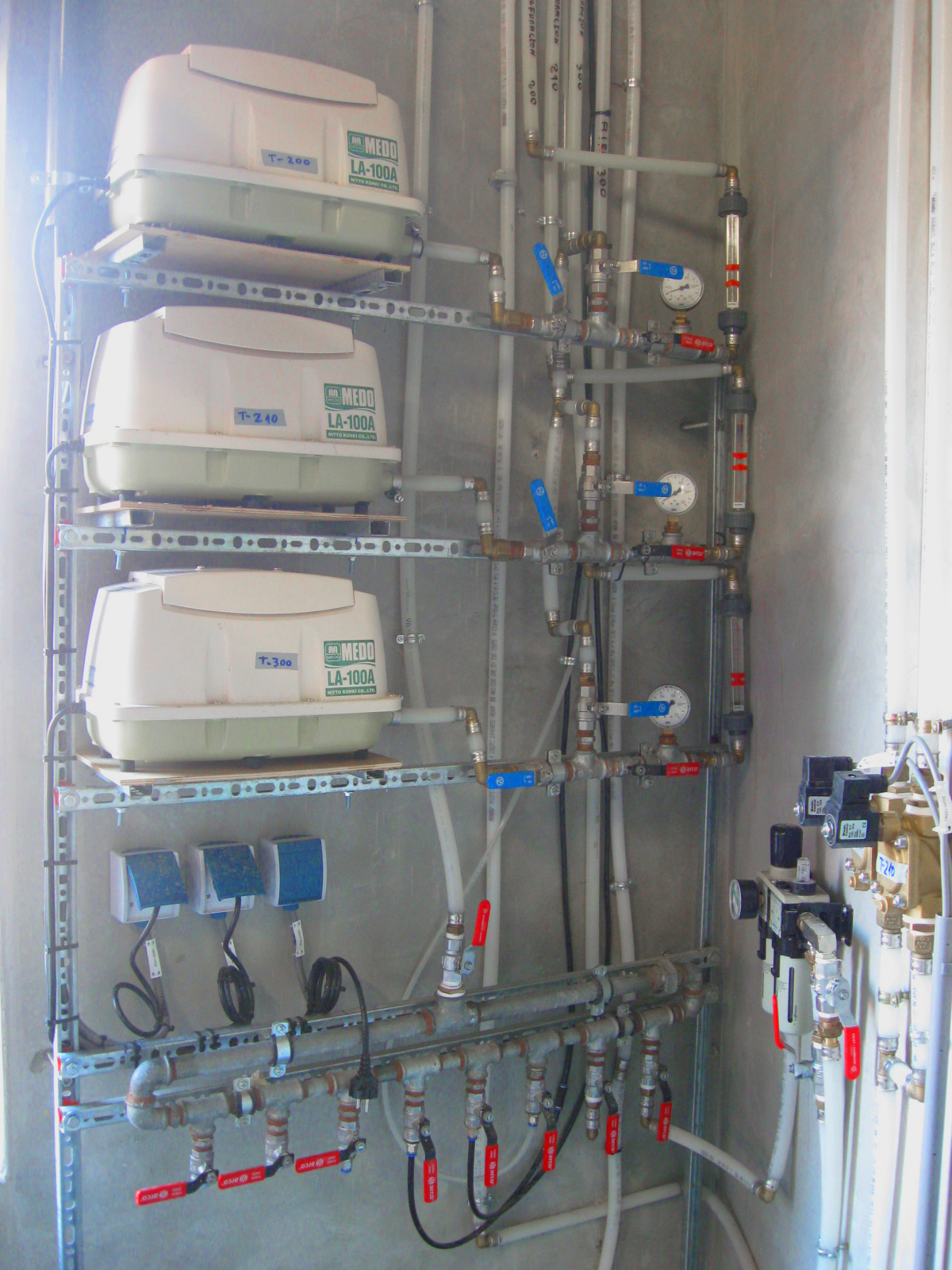 06 Planta de Biogás de 2 MW en Moerstraten Países Bajos - Compresores desulfuración