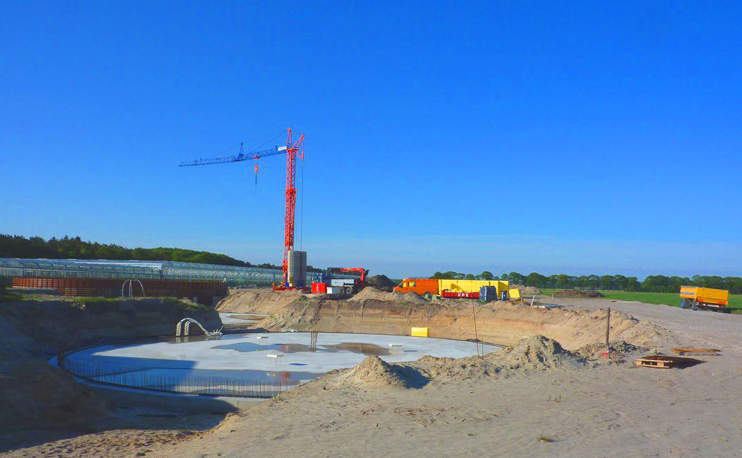 10 Planta de Biogás de 2 MW en Moerstraten Países Bajos - CONSTRUCCION