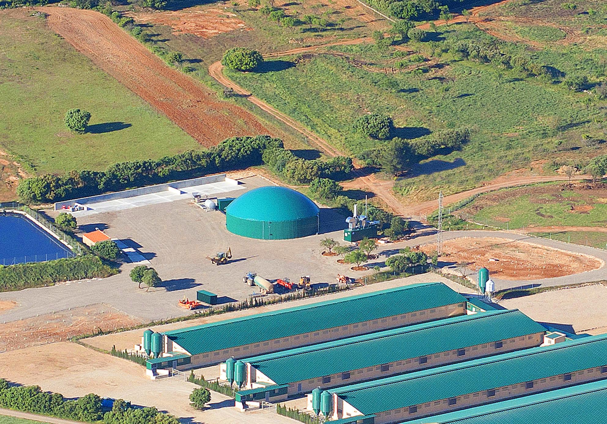 Planta de Biogás Balsa de Ves Albacete 250kW INDEREN 04
