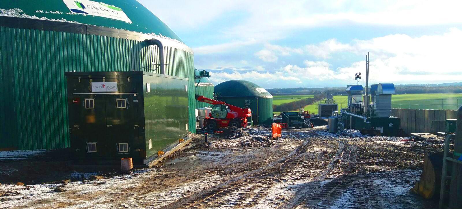 97 Planta Biogás 1MW Inchdairnie Reino Unido