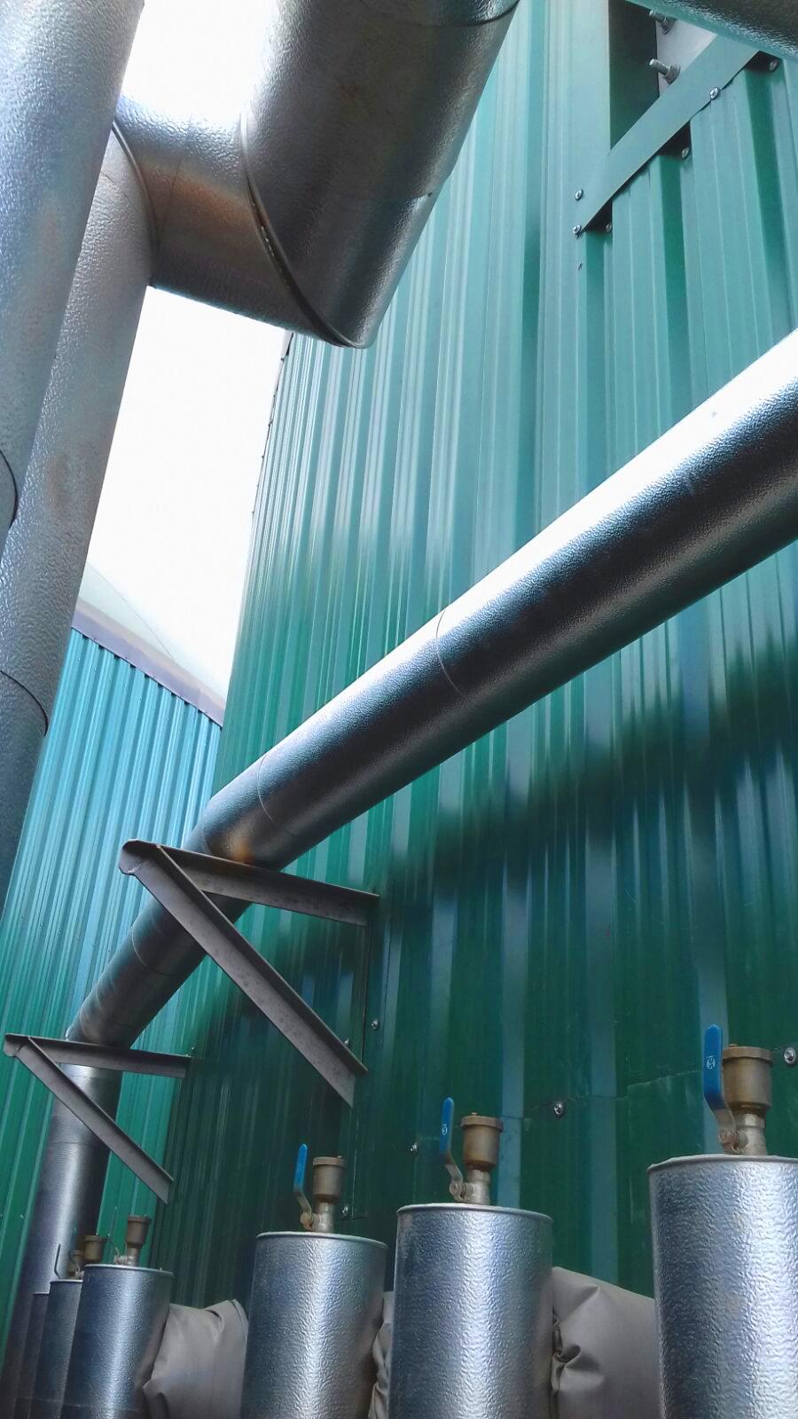 Aislamiento-Planta Biogás 1MW Inchdairnie Reino Unido