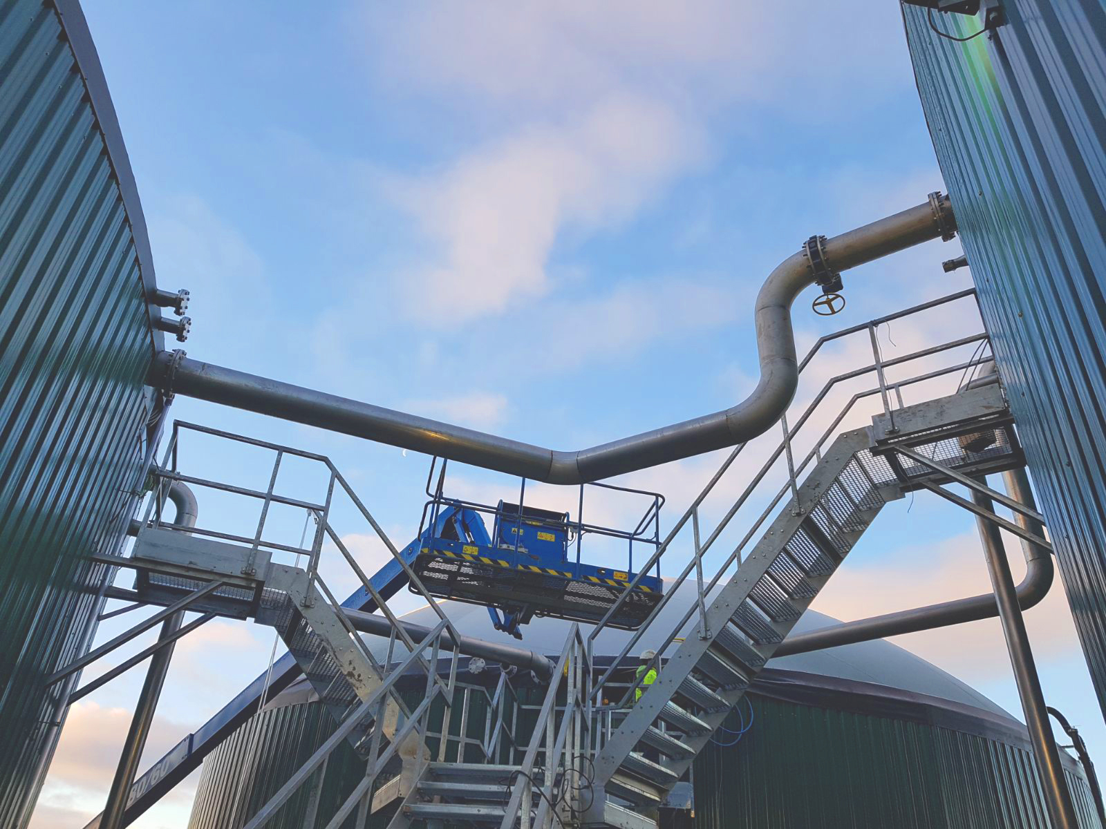 Balanceos de gas-Planta Biogás 1MW Inchdairnie Reino Unido