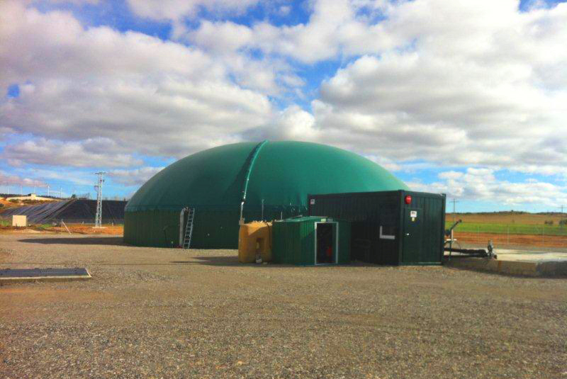 350kW Biogas Plant in Bonete Albacete Spain INDEREN 04