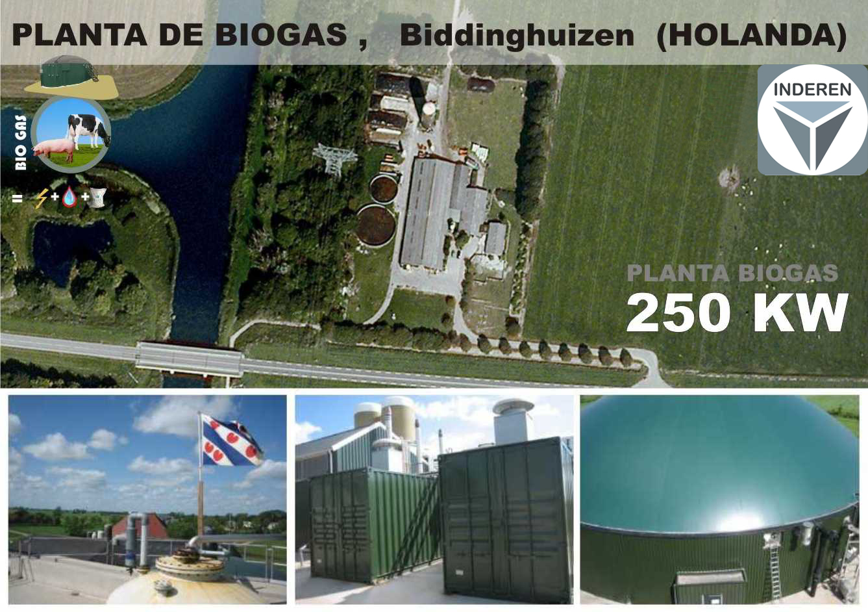 Biogas plant Biddinghuizen Netherlands Planta de Biogás Biddinghuizen 01