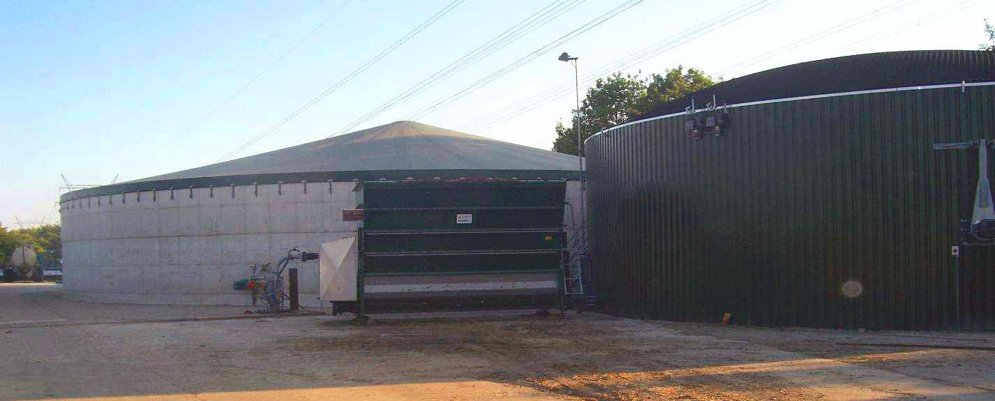 Biogas plant Biddinghuizen Netherlands Planta de Biogás Biddinghuizen 02