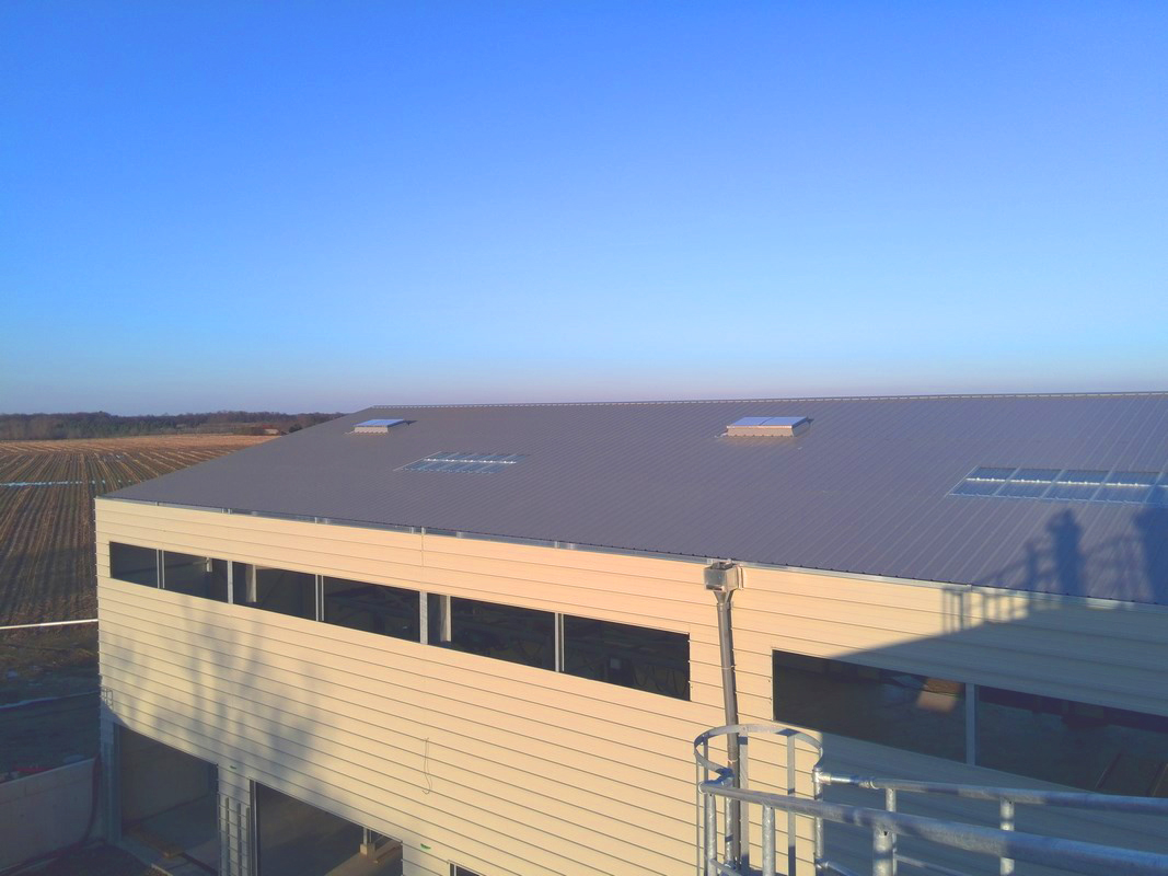 Planta de Biogás de 500 kW en Aire-sur-l'Adour Francia 18