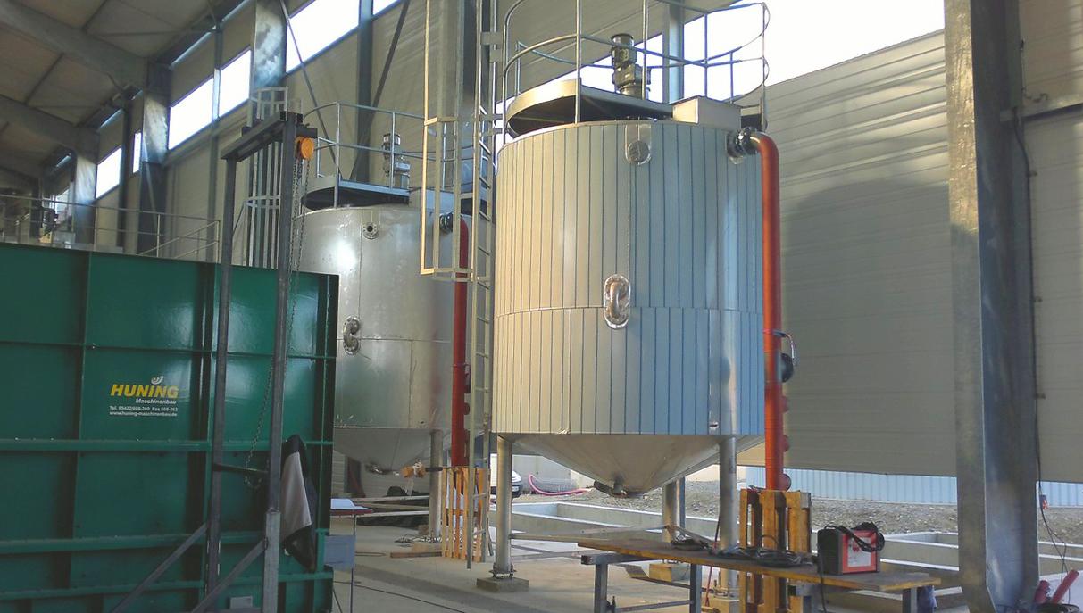 Planta de Biogás de 500 kW en Aire-sur-l'Adour Francia 10