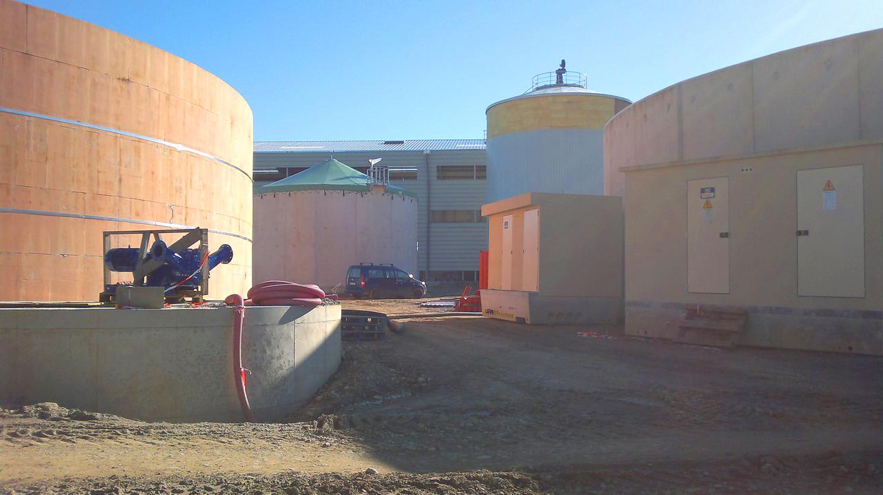 Planta de Biogás de 500 kW en Aire-sur-l'Adour Francia 21