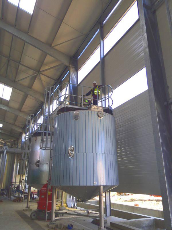 Planta de Biogás de 500 kW en Aire-sur-l'Adour Francia 09