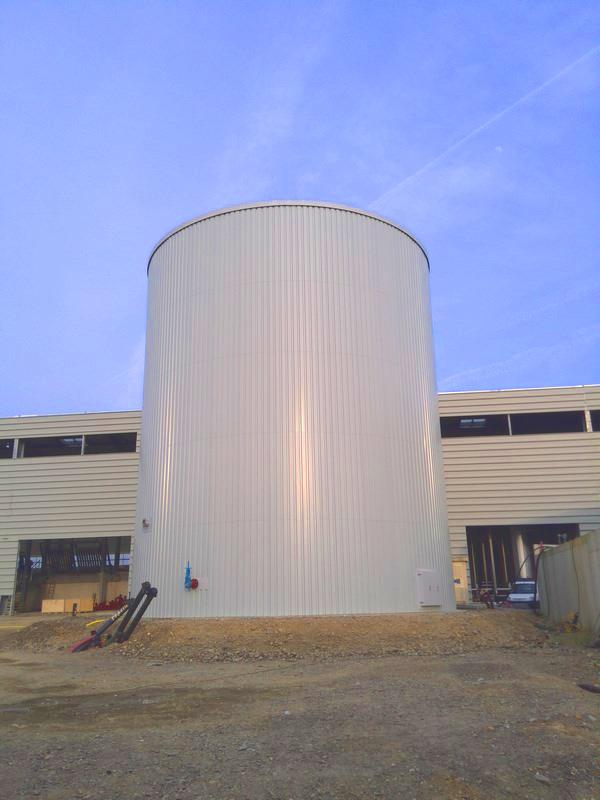 Planta de Biogás de 500 kW en Aire-sur-l'Adour Francia 17