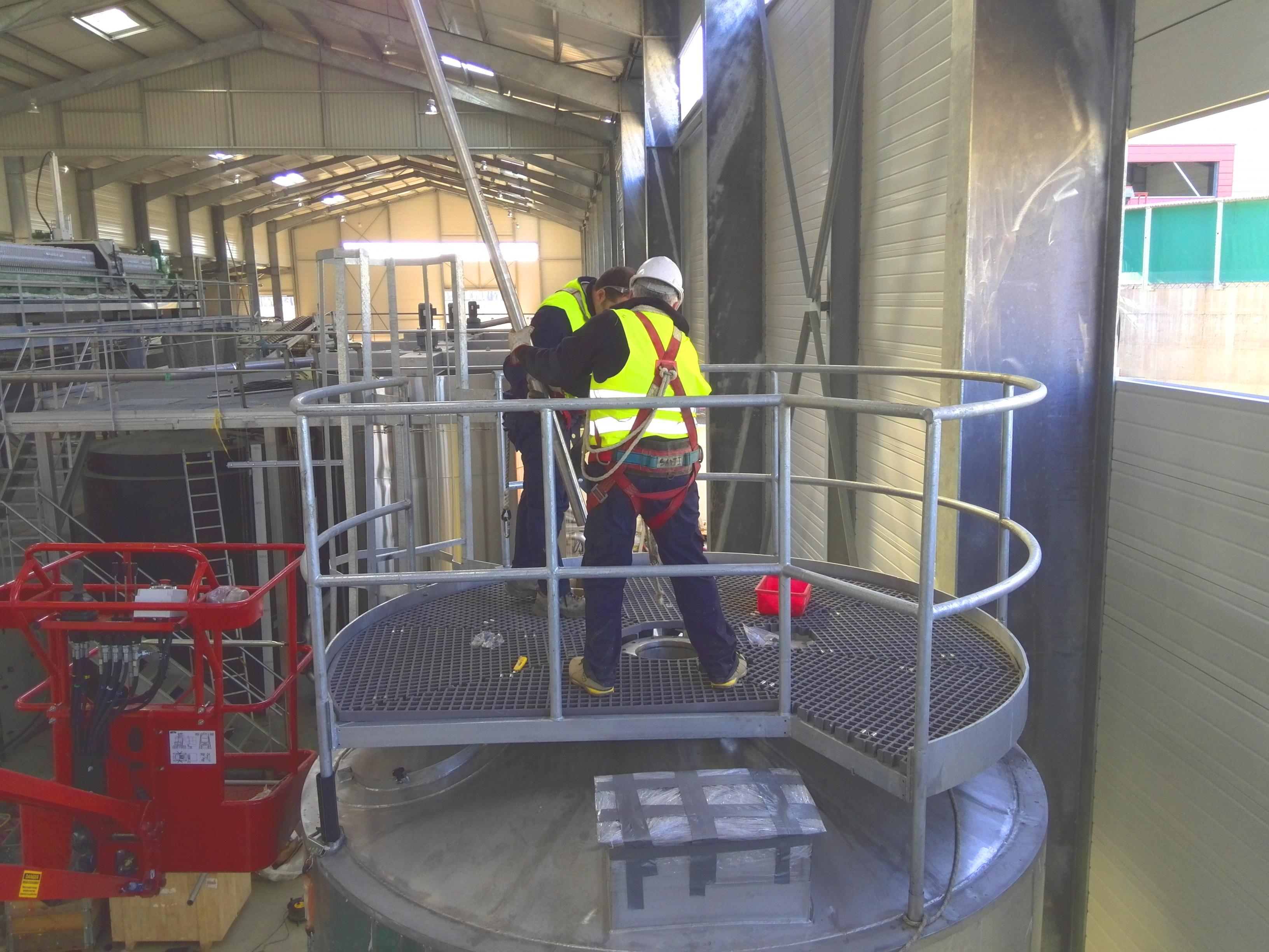 Planta de Biogás de 500 kW en Aire-sur-l'Adour Francia 15
