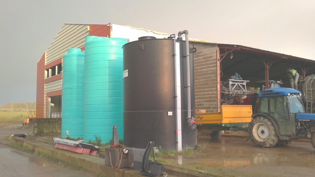 Planta de Biogás de 500 kW en Aire-sur-l'Adour Francia 23