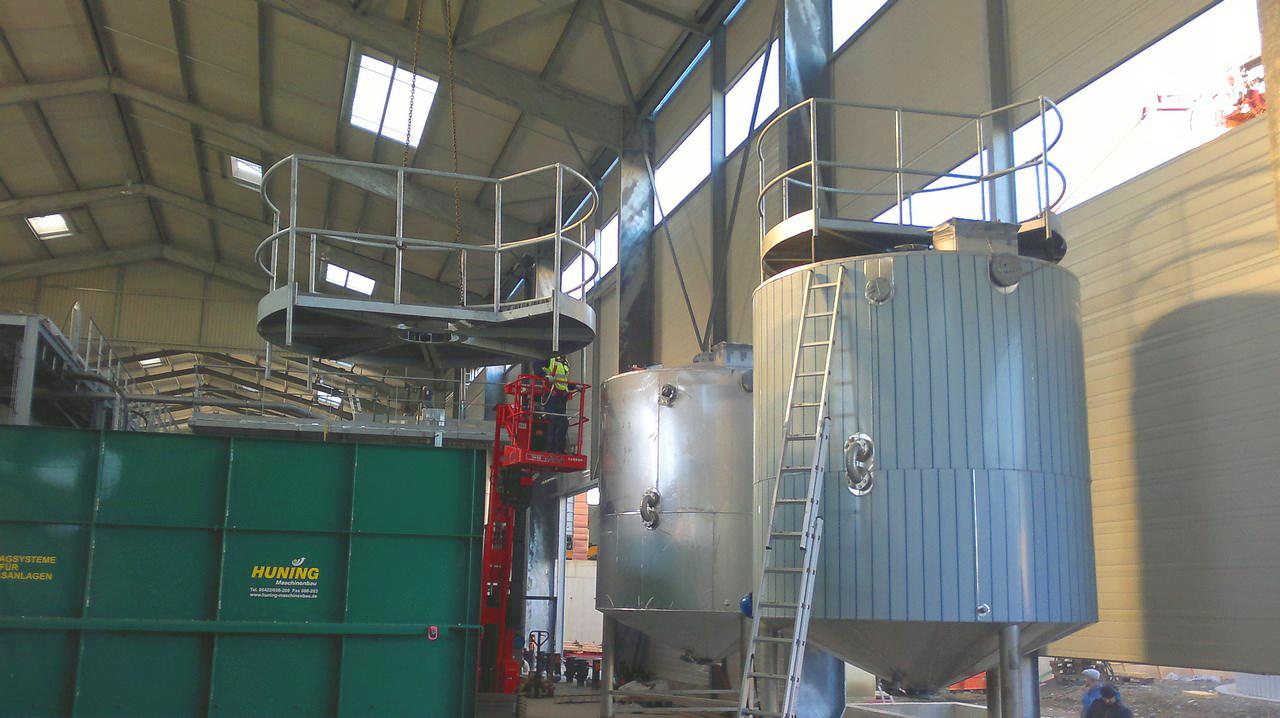 Planta de Biogás de 500 kW en Aire-sur-l'Adour Francia 11