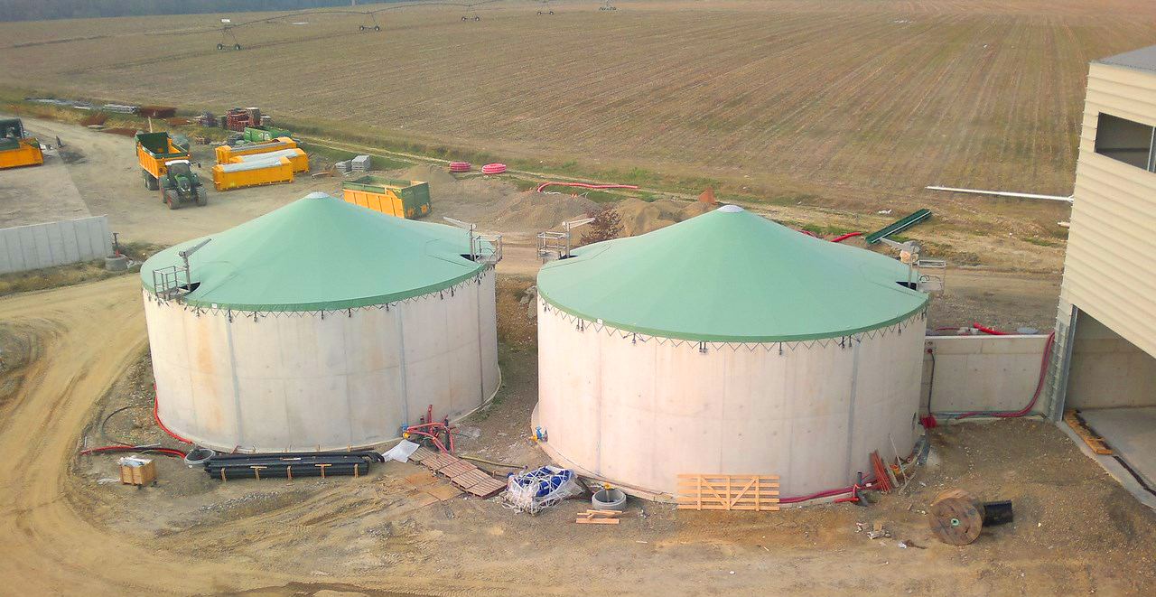 Planta de Biogás de 500 kW en Aire-sur-l'Adour Francia 20