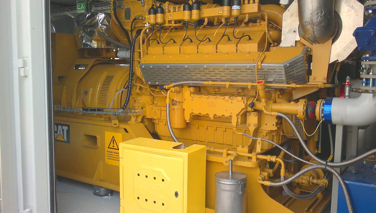 Planta de Biogás de 500 kW en Aire-sur-l'Adour Francia 12