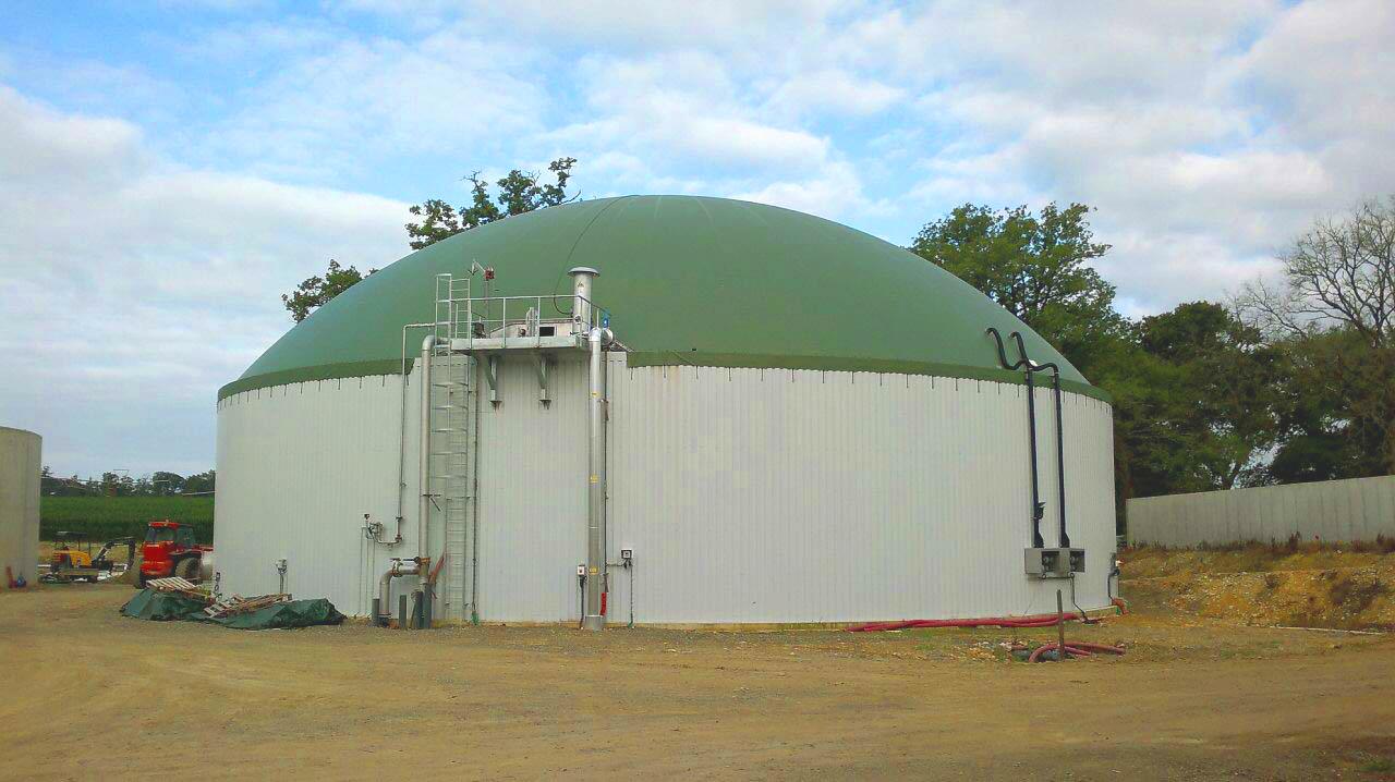 Planta de Biogás de 500 kW en Aire-sur-l'Adour Francia 16