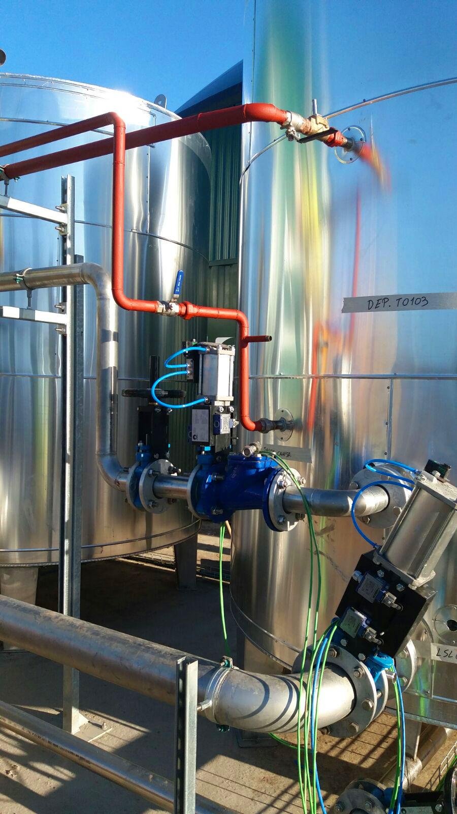 Pasteurizador01-Planta Biogás 1MW Inchdairnie Reino Unido