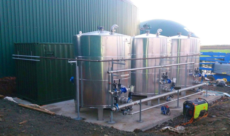Pasteurizador03-Planta Biogás 1MW Inchdairnie Reino Unido
