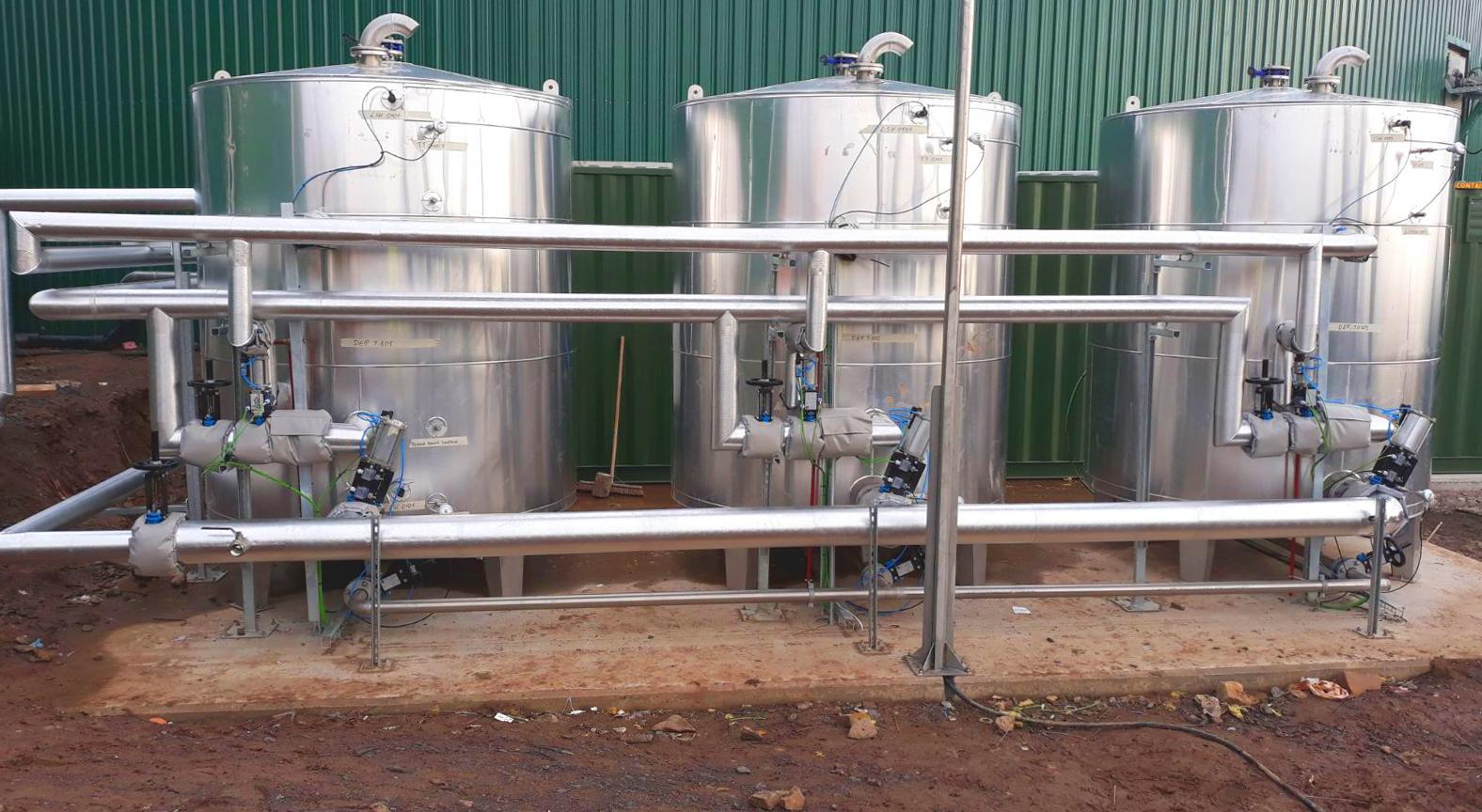 Pasteurizador04-Planta Biogás 1MW Inchdairnie Reino Unido
