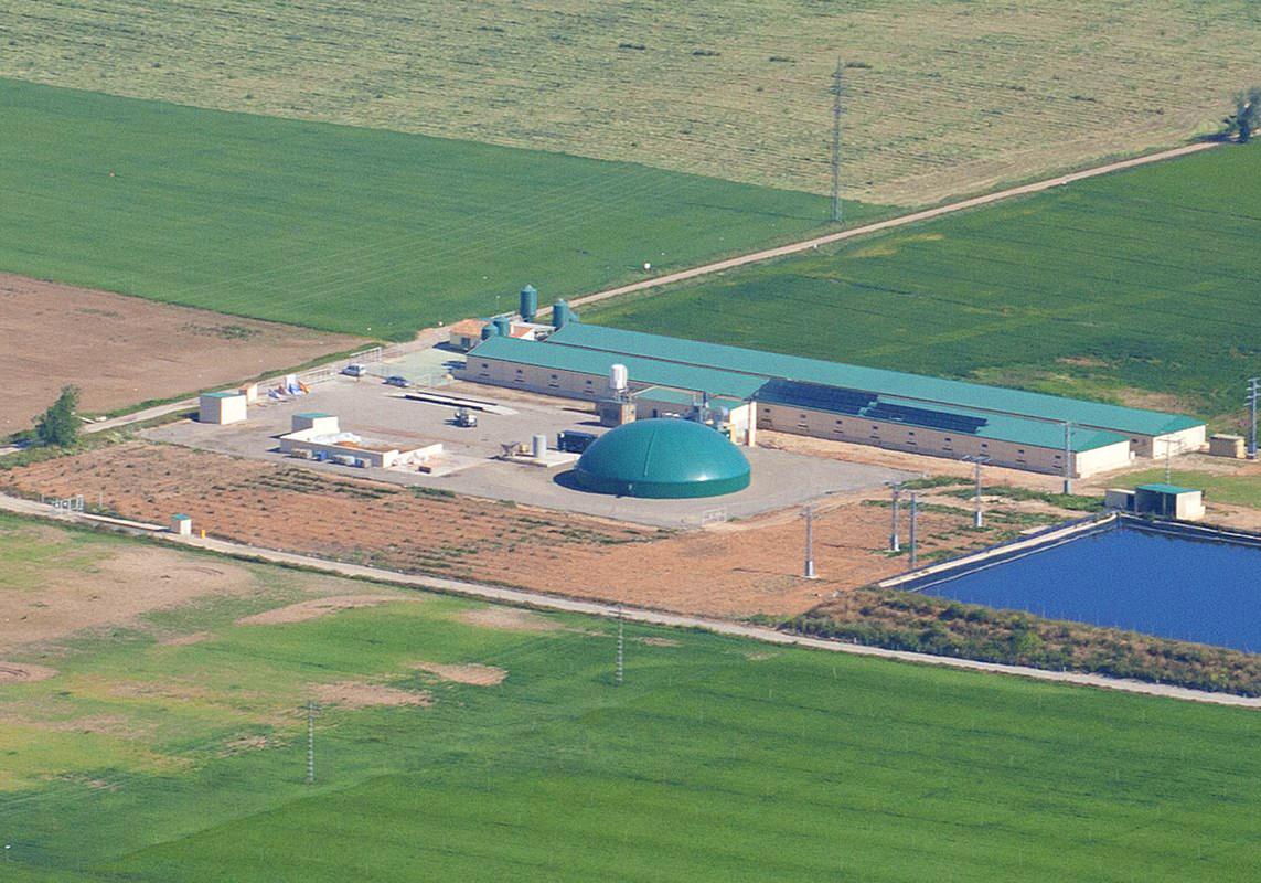 Planta de Biogás de 350kW en Chinchilla de Montearagón Albacete 02