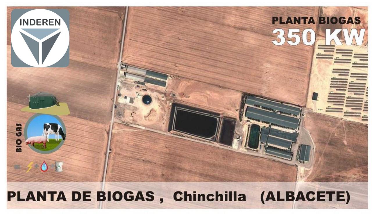 Planta de Biogás de 350kW en Chinchilla de Montearagón Albacete 01