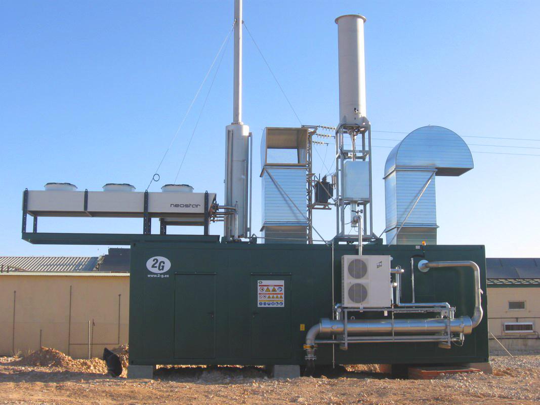Planta de Biogás de 350kW en Chinchilla de Montearagón Albacete 06