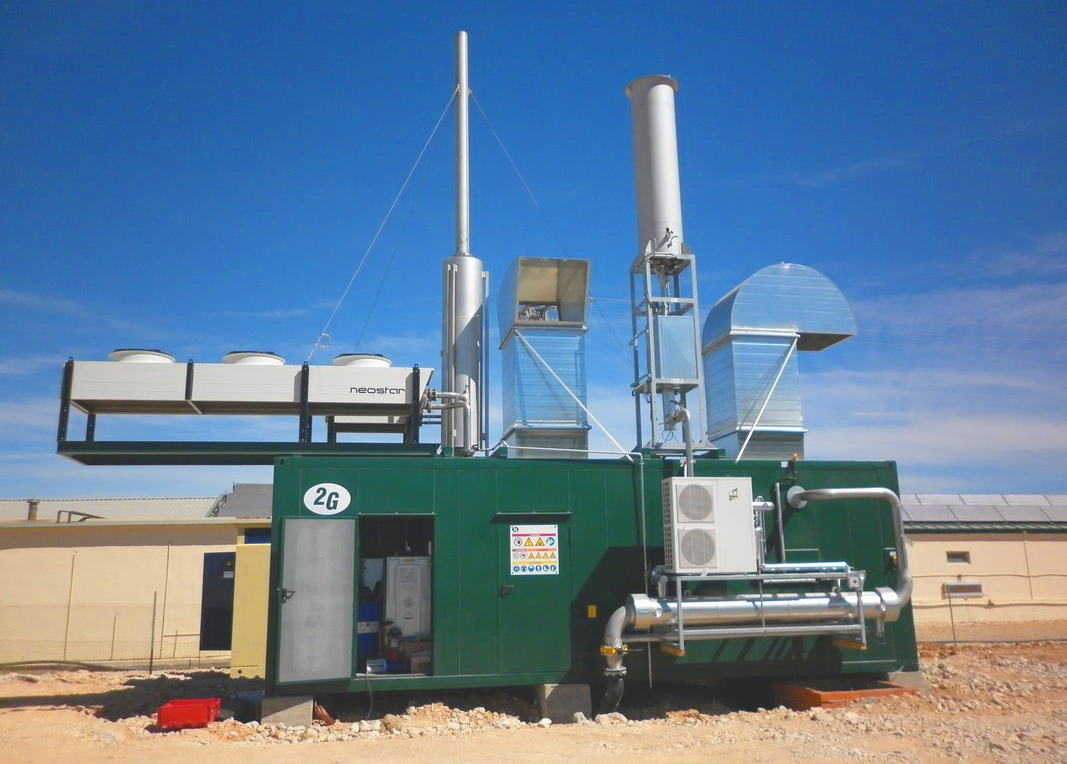 Planta de Biogás de 350kW en Chinchilla de Montearagón Albacete 15