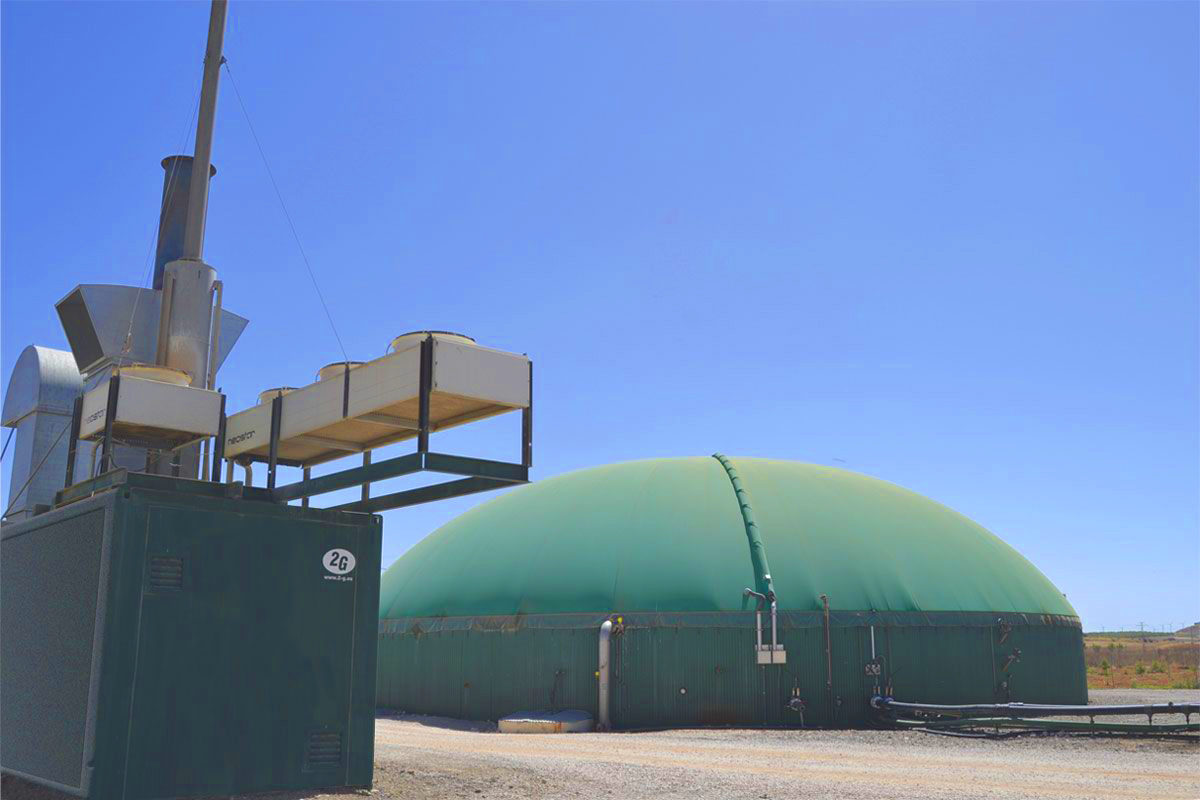 350kW Biogas Plant in Chinchilla de Montearagón Albacete Spain 18