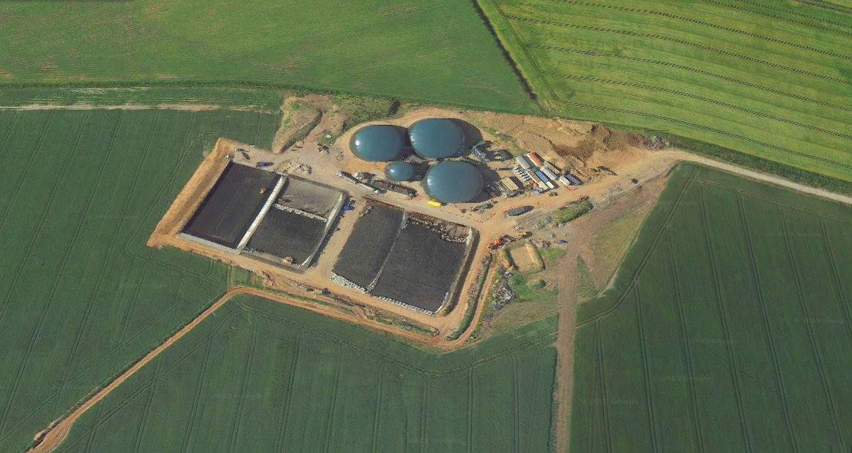 Planta de Biogás de 1MW en Savock Reino Unido 01
