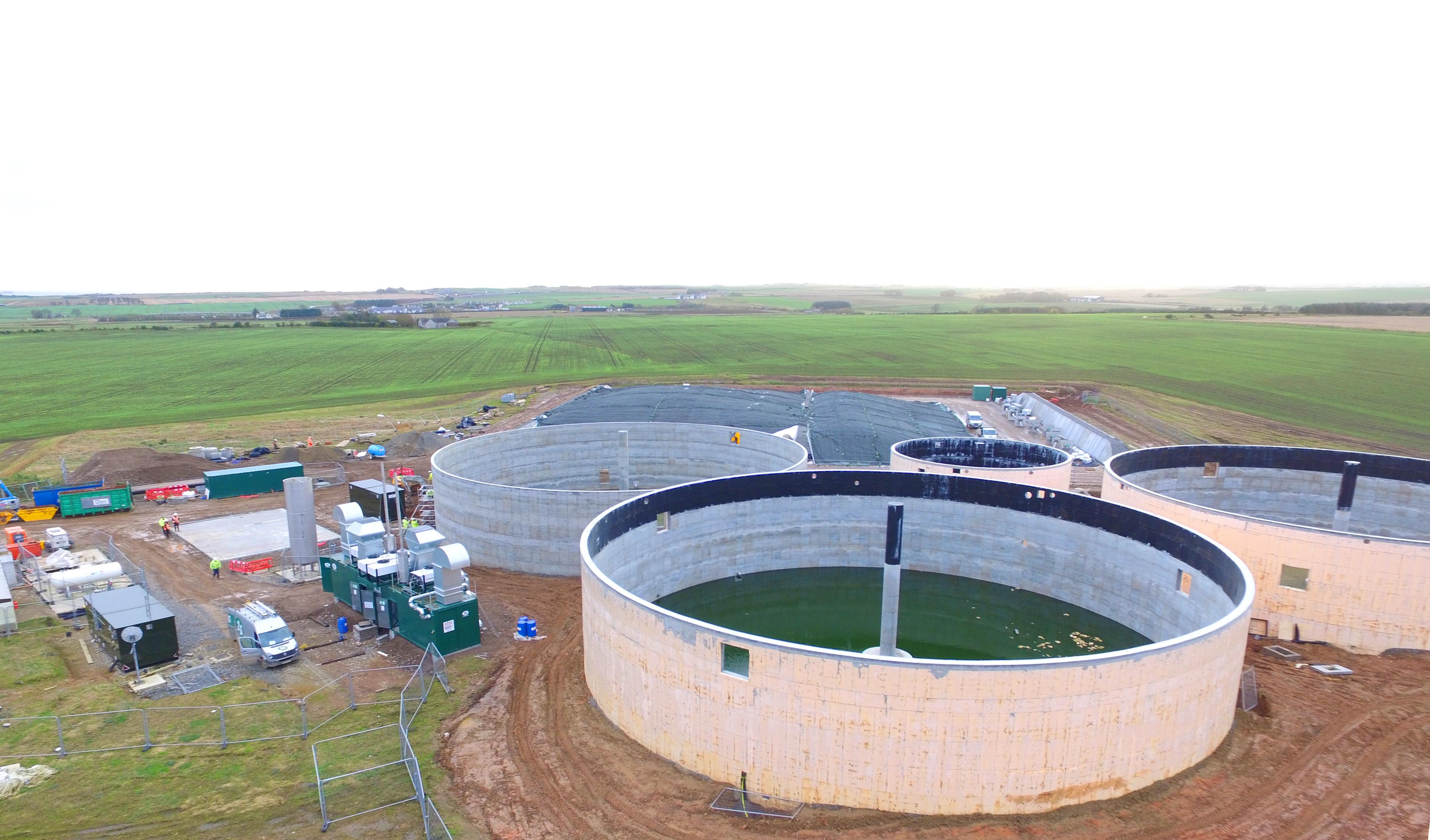 Planta de Biogás de 1MW en Savock Reino Unido 02