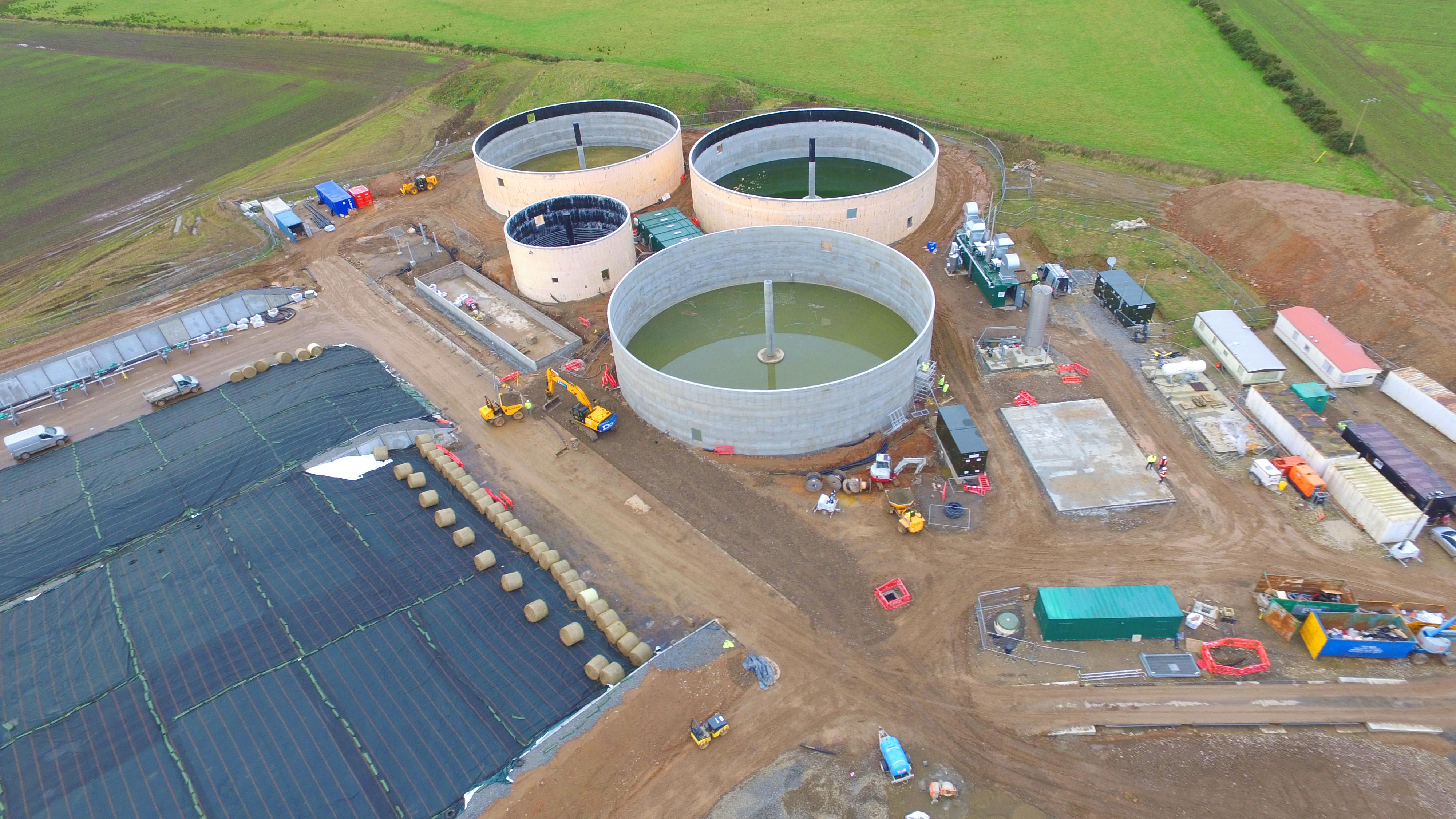 Planta de Biogás de 1MW en Savock Reino Unido 11