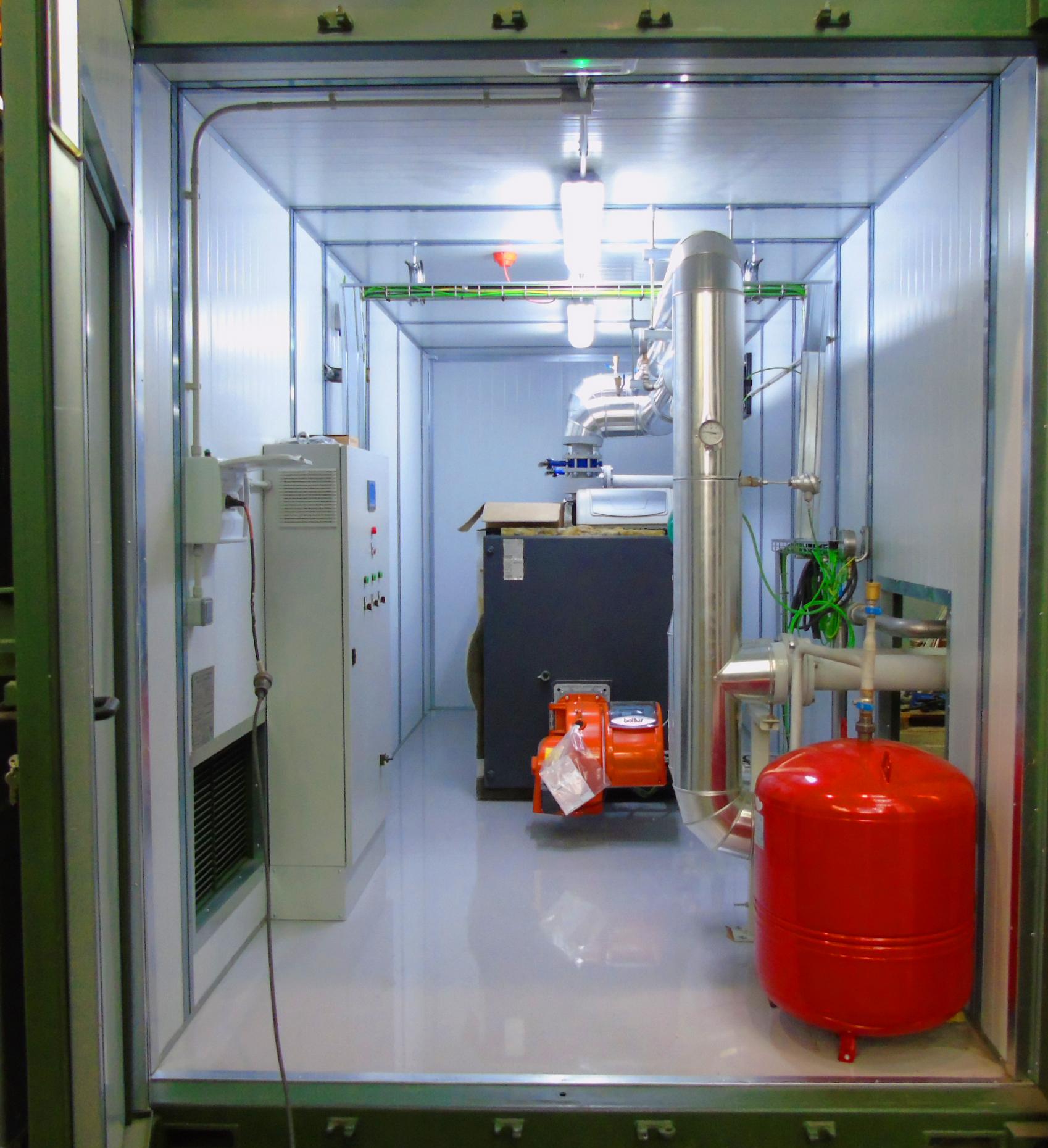 Planta de Biogás de 1MW en Savock Reino Unido 05