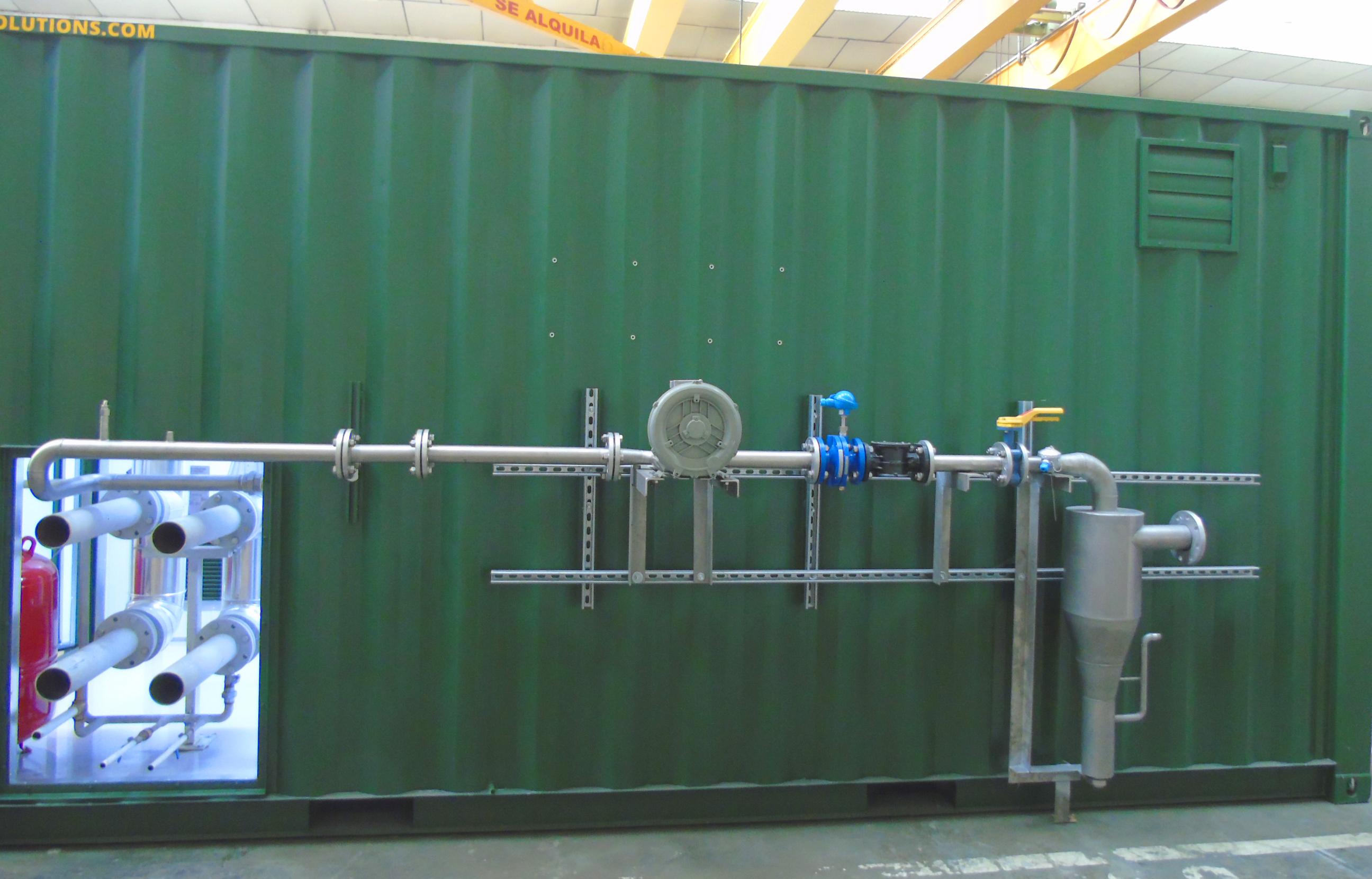 Planta de Biogás de 1MW en Savock Reino Unido 07