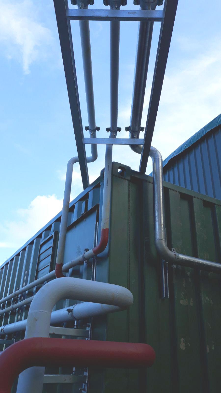 Planta de Biogás de 1MW en Savock Reino Unido 13