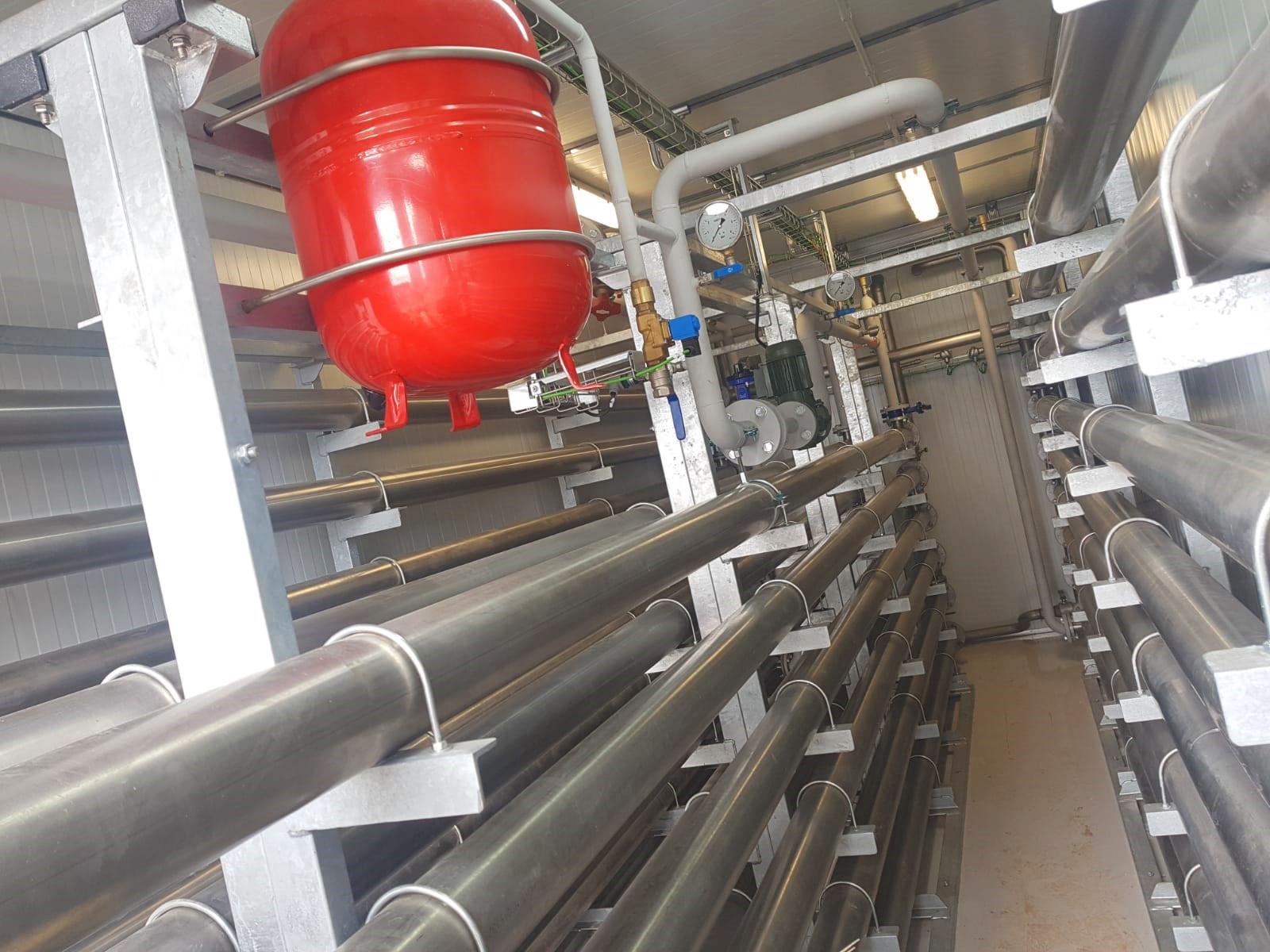Planta de Biogás de 1MW en Savock Reino Unido 14