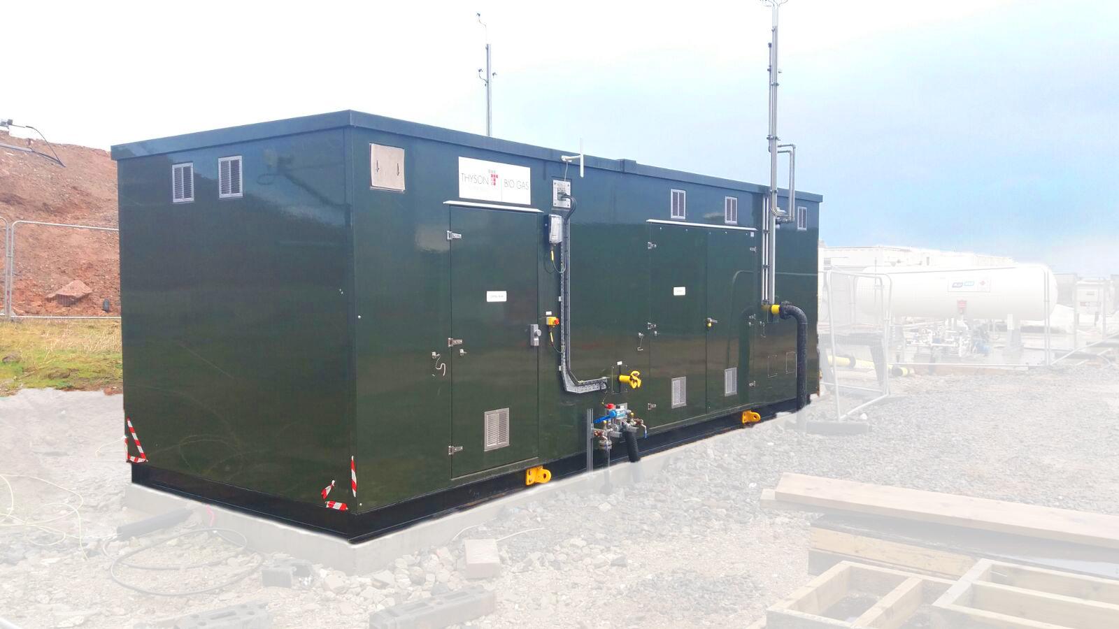 Planta de Biogás de 1MW en Savock Reino Unido 03