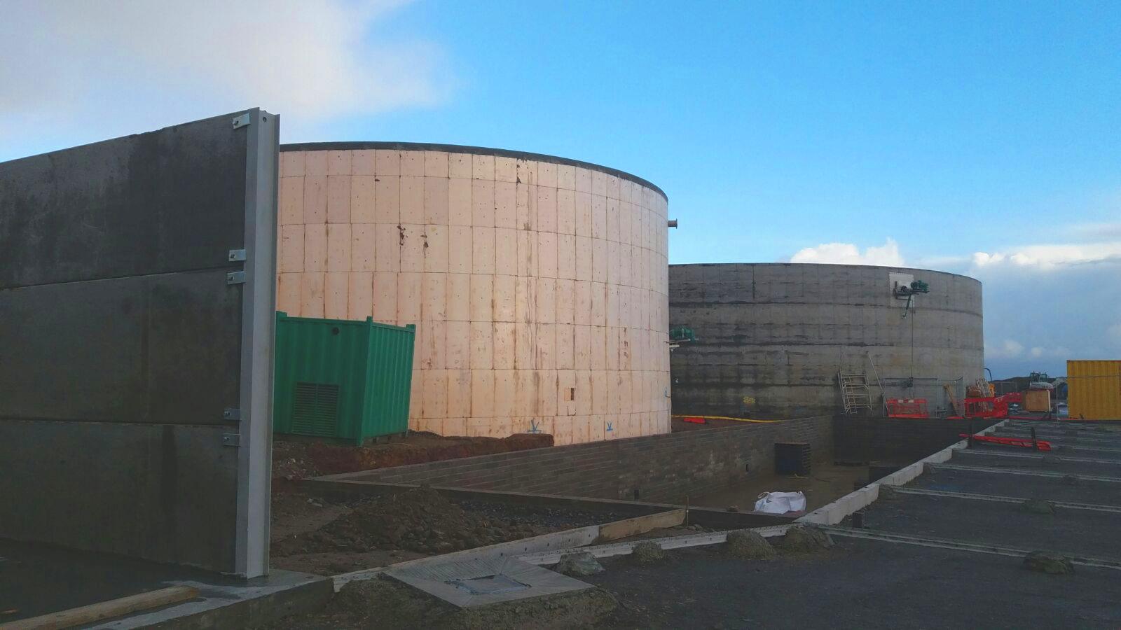 Planta de Biogás de 1MW en Savock Reino Unido 19