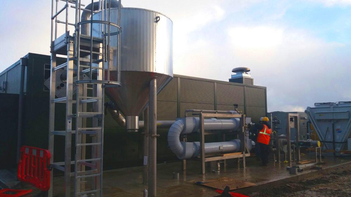 1MW Biogas Plant in Savock United Kingdom 005