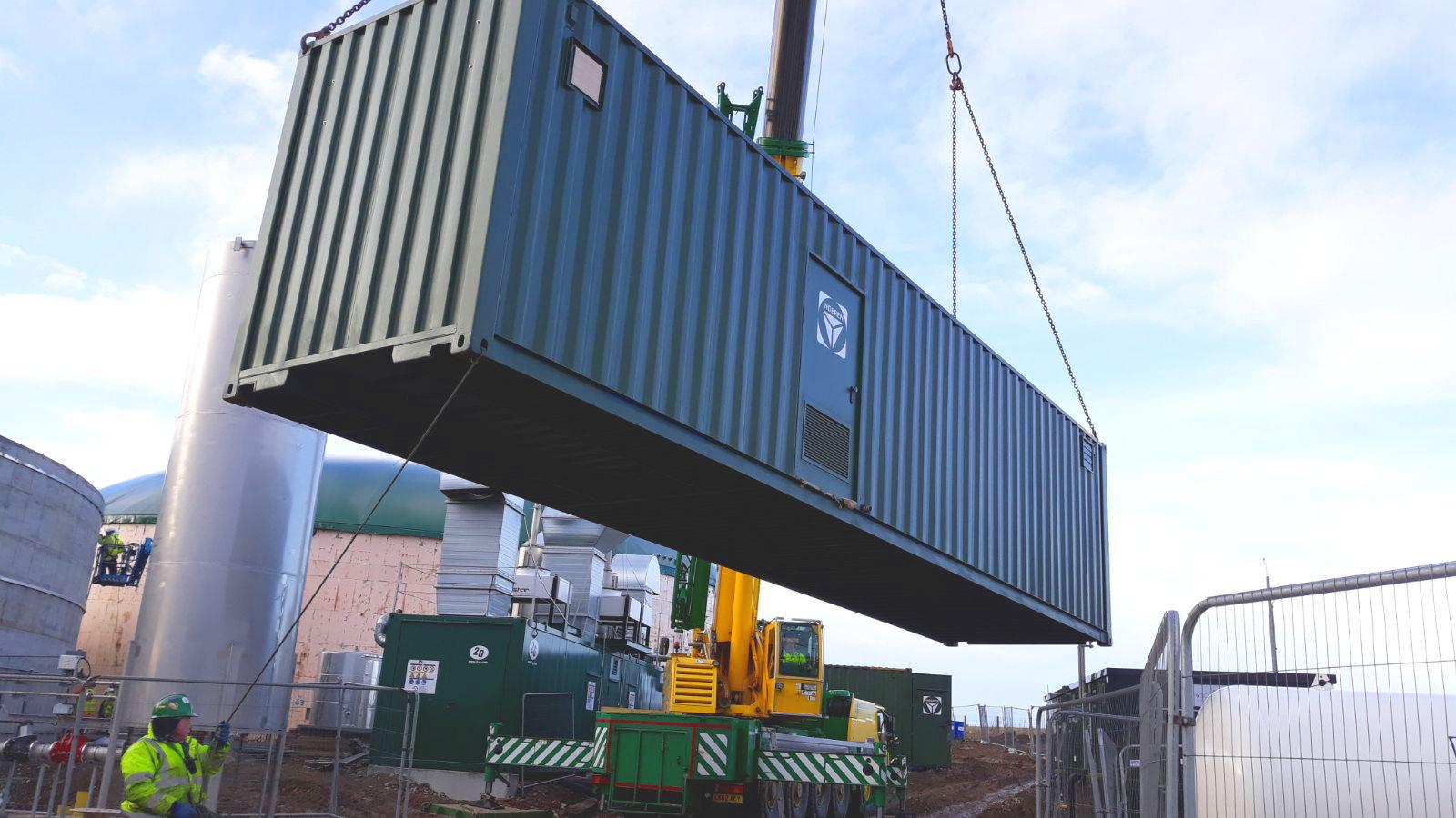 Planta de Biogás de 1MW en Savock Reino Unido 08